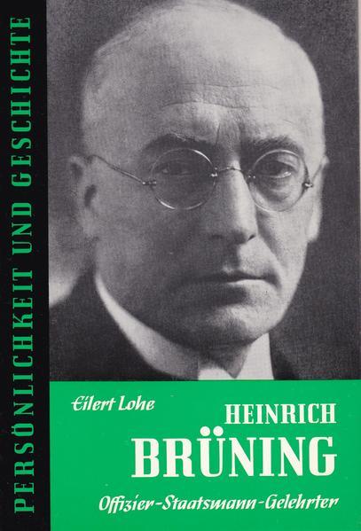 Heinrich Brüning - Coverbild