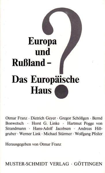Europa und Russland - Das Europäische Haus? - Coverbild