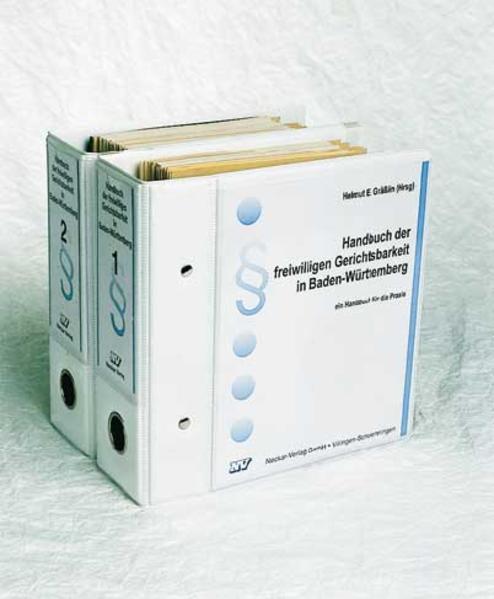 Handbuch der freiwilligen Gerichtsbarkeit in Baden-Württemberg - Coverbild