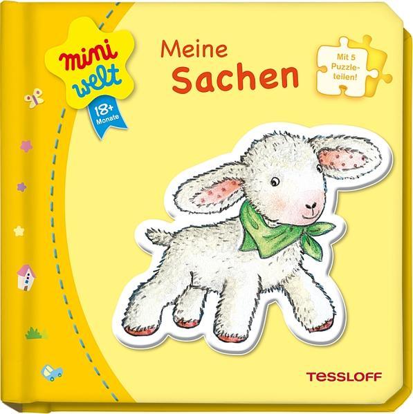 Kleines Puzzlebuch: Meine Sachen - Coverbild