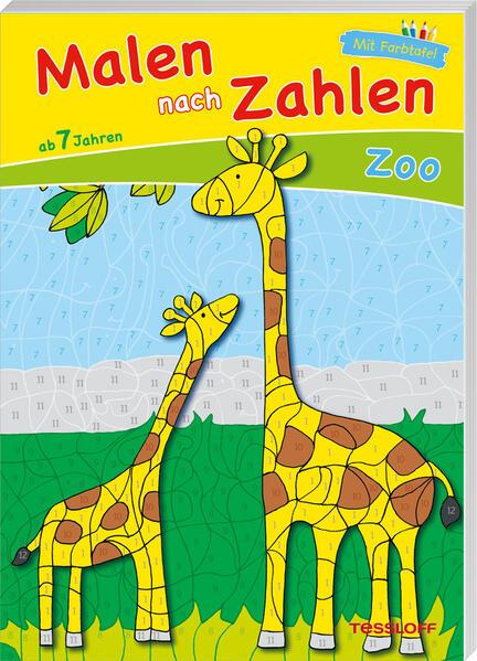 Malen nach Zahlen Zoo - Coverbild