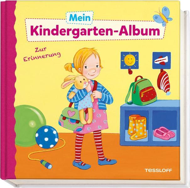 Mein Kindergarten-Album (Mädchen) - Coverbild