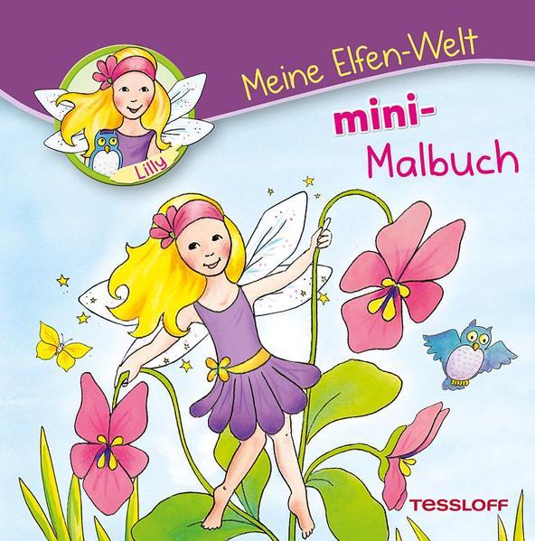 Meine Elfen-Welt. Mini Malbuch - Coverbild