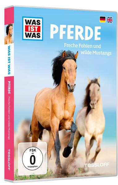 WAS IST WAS DVD Pferde. Freche Fohlen und wilde Mustangs - Coverbild