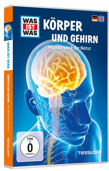 WAS IST WAS DVD Körper und Gehirn. Wunderwerk der Natur - Coverbild