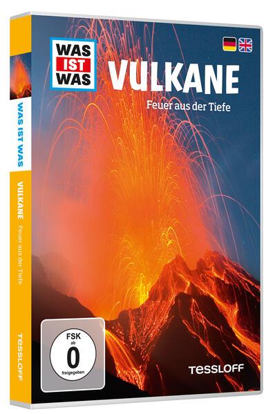 WAS IST WAS DVD Vulkane. Feuer aus der Tiefe - Coverbild