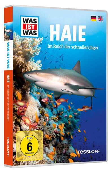 WAS IST WAS DVD Haie. Im Reich der schnellen Jäger - Coverbild