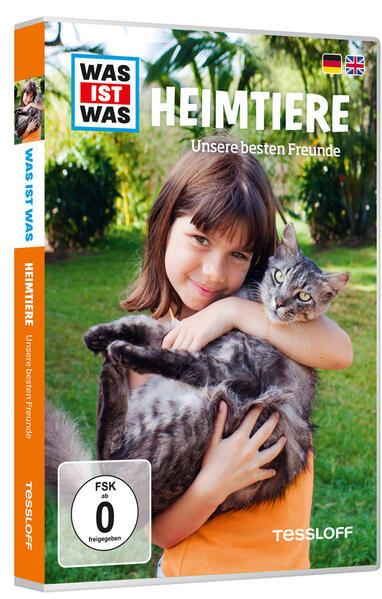 WAS IST WAS DVD Heimtiere. Unsere besten Freunde - Coverbild