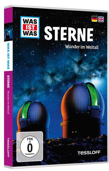 WAS IST WAS DVD Sterne. Wunder im Weltall - Coverbild