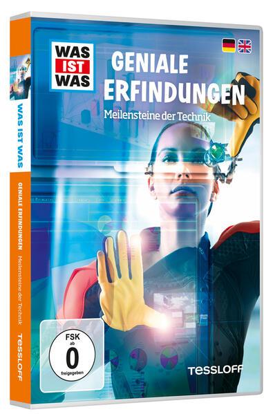 WAS IST WAS DVD Geniale Erfindungen. Meilensteine der Technik - Coverbild