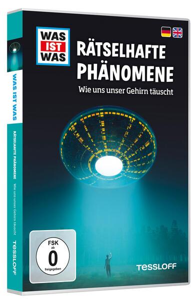 WAS IST WAS DVD Rätselhafte Phänomene. Wie uns unser Gehirn täuscht - Coverbild