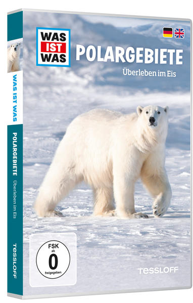WAS IST WAS DVD Polargebiete. Überleben im Eis - Coverbild