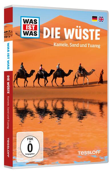 WAS IST WAS DVD Die Wüste. Kamele, Sand und Tuareg - Coverbild