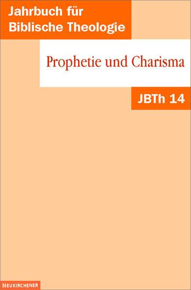 Prophetie und Charisma - Coverbild