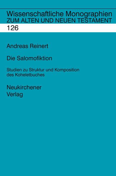 Die Salomofiktion - Coverbild