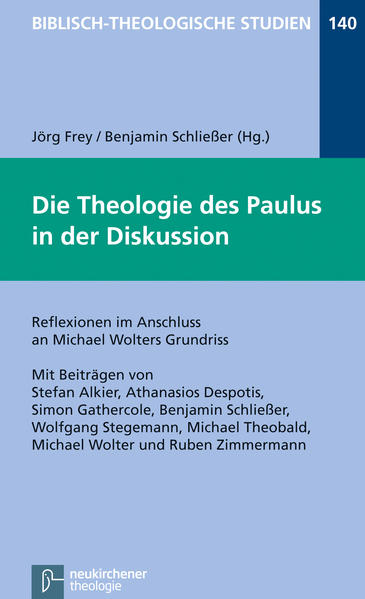 Die Theologie des Paulus in der Diskussion - Coverbild