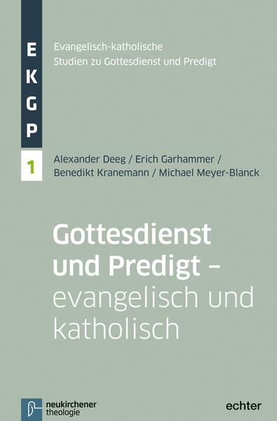 Gottesdienst und Predigt - evangelisch und katholisch - Coverbild