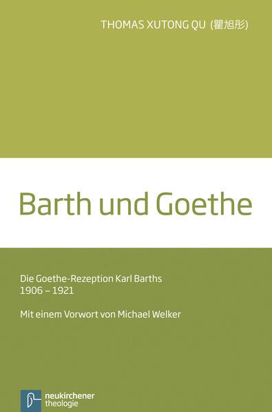 Barth und Goethe - Coverbild