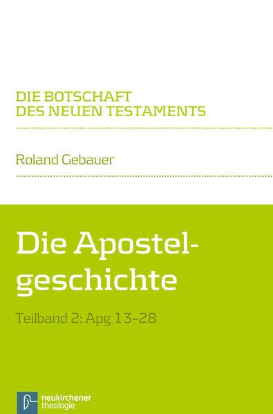 Die Apostelgeschichte - Coverbild