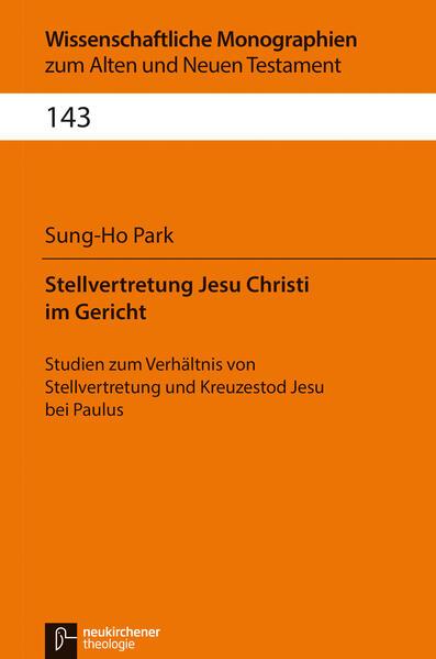 Stellvertretung Jesu Christi im Gericht - Coverbild