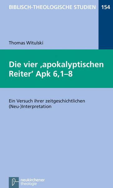 Die vier apokalyptischen Reiter Apk 6,1-8 - Coverbild