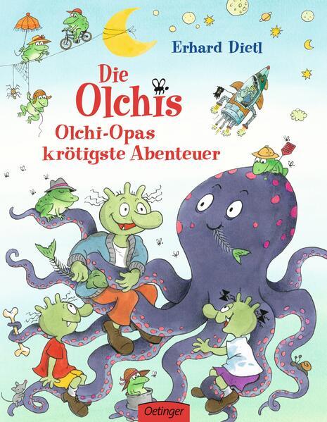 Die Olchis. Olchi-Opas krötigste Abenteuer - Coverbild