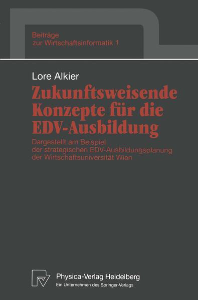 Zukunftsweisende Konzepte für die EDV-Ausbildung - Coverbild