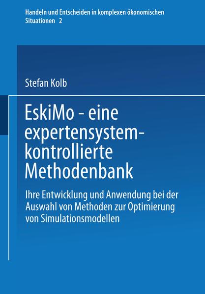 EskiMo — eine expertensystemkontrollierte Methodenbank - Coverbild