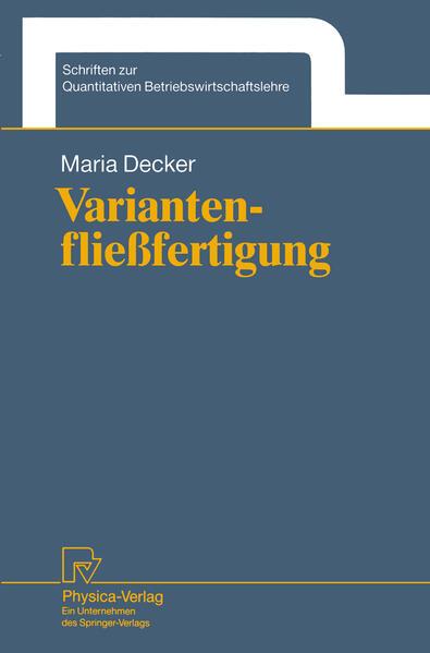 Variantenfließfertigung - Coverbild