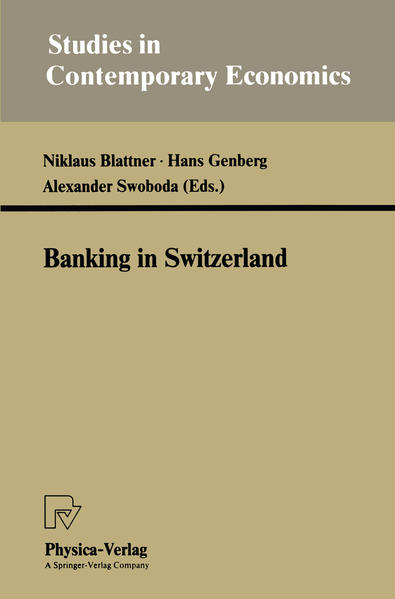 Banking in Switzerland - Coverbild