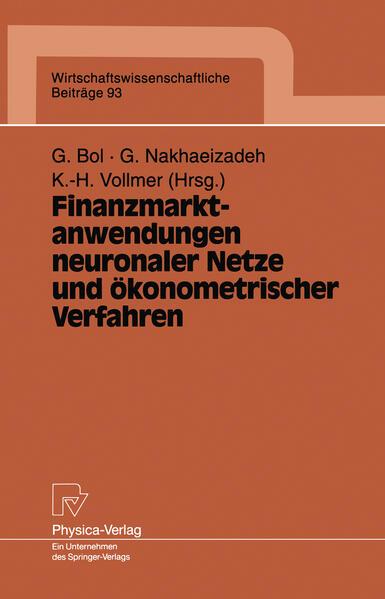 Finanzmarktanwendungen neuronaler Netze und ökonometrischer Verfahren - Coverbild