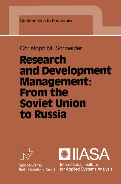 Research and Development Management: From the Soviet Union to Russia - Coverbild