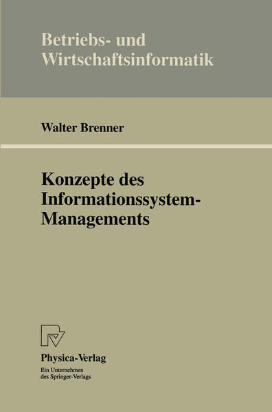 Konzepte des Informationssystem-Managements - Coverbild