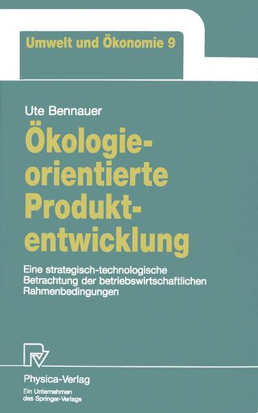 Ökologieorientierte Produktentwicklung - Coverbild