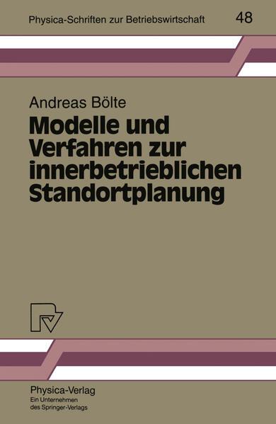 Modelle und Verfahren zur innerbetrieblichen Standortplanung - Coverbild