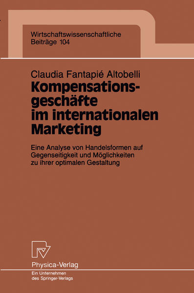 Kompensationsgeschäfte im internationalen Marketing - Coverbild