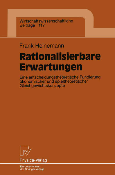 Rationalisierbare Erwartungen - Coverbild
