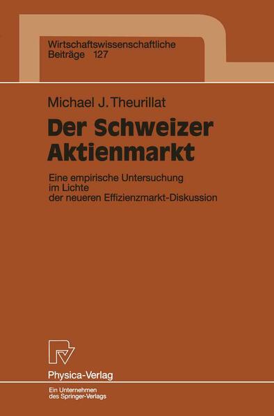 Der Schweizer Aktienmarkt - Coverbild