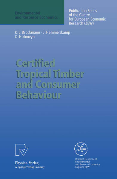 Certified Tropical Timber and Consumer Behaviour - Coverbild