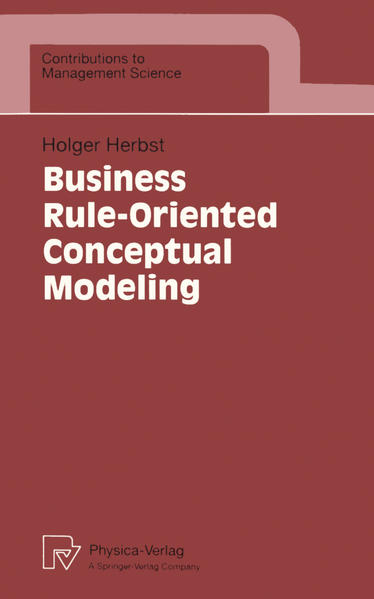 Business Rule-Oriented Conceptual Modeling - Coverbild