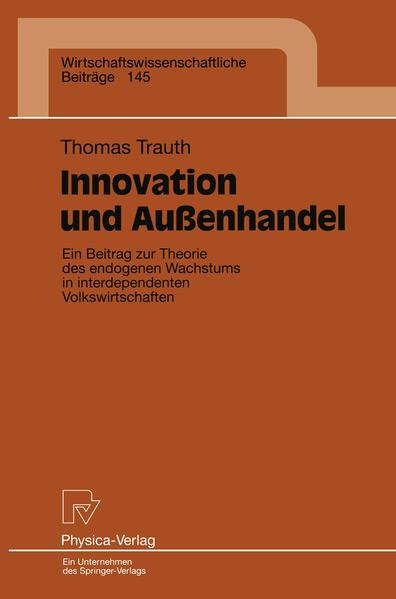 Innovation und Außenhandel - Coverbild