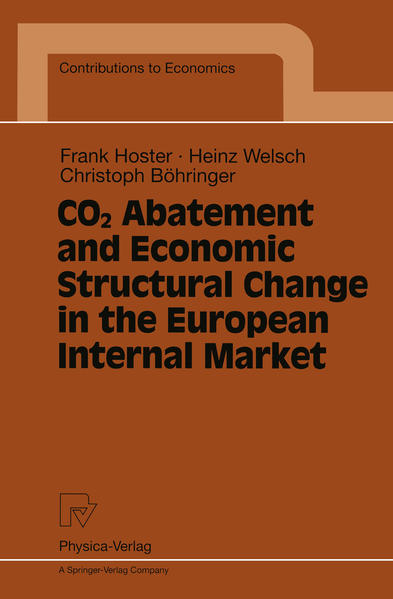CO2 Abatement and Economic Structural Change in the European Internal Market - Coverbild
