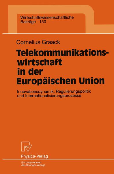 Telekommunikationswirtschaft in der Europäischen Union - Coverbild