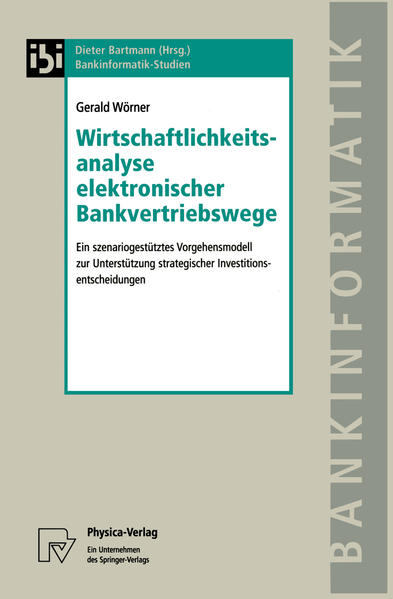 Wirtschaftlichkeitsanalyse elektronischer Bankvertriebswege - Coverbild