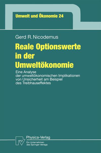Reale Optionswerte in der Umweltökonomie - Coverbild