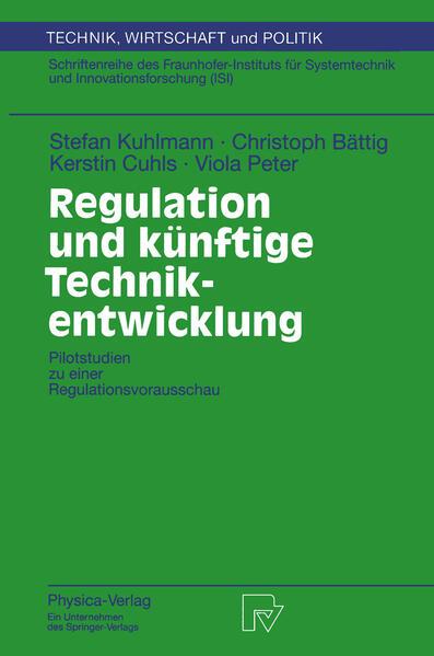 Regulation und künftige Technikentwicklung - Coverbild