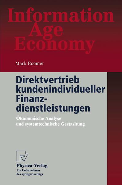 Direktvertrieb kundenindividueller Finanzdienstleistungen - Coverbild