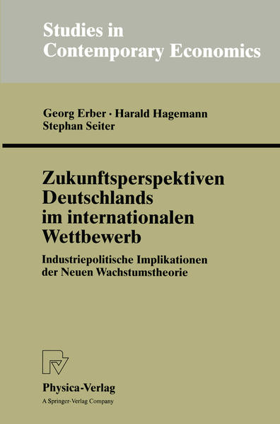 Zukunftsperspektiven Deutschlands im internationalen Wettbewerb - Coverbild