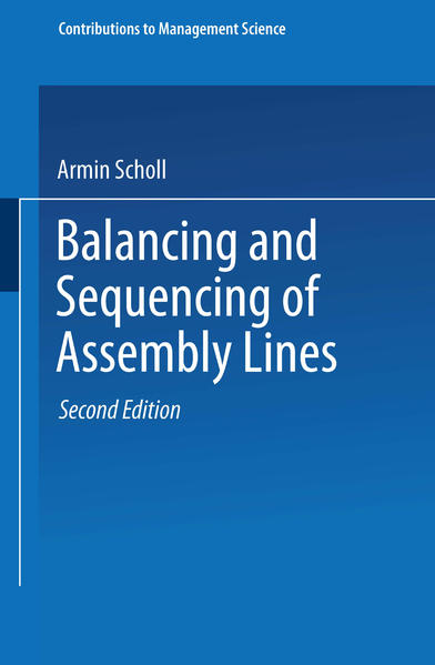 Balancing and Sequencing of Assembly Lines - Coverbild
