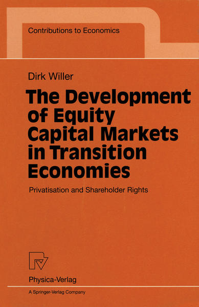 The Development of Equity Capital Markets in Transition Economies - Coverbild